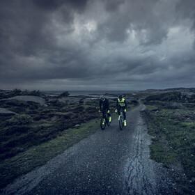 GripGrab Ride Windproof Hi-Vis Thermal Hi-Vis Windbestendige Winterhandschoenen, groen